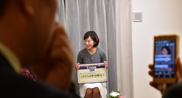 スザンヌママことキャサリンさんのLINE LIVEに潜入!inサンメゾンモデルルーム