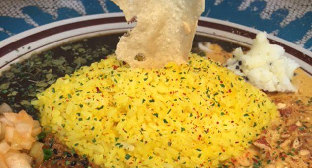 絶品スパイスカレーの競演 カレーファン垂涎の一皿!