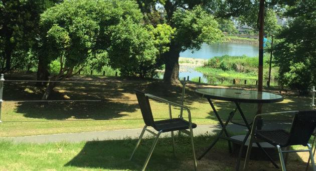 江津湖の自然を眺めるとっておきのカフェ発見!