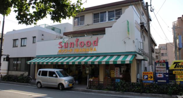 町の小さなスーパーマーケット